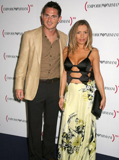 Marie Claire fashion news: Frank Lampard and fiancee Elen Rives  donated a huge selection of designer clothing to the King's Road Red Cross charity shop