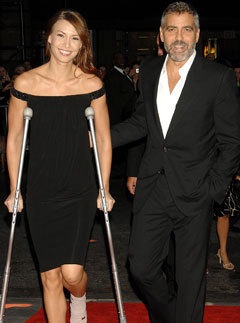 Marie Claire news: George Clooney and Sarah Larson