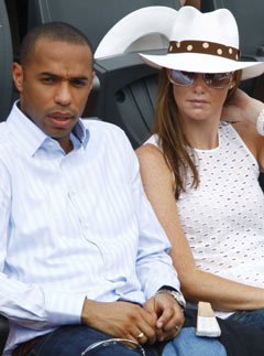 Marie Claire news: Thierry Henry's wife could net £12 million in divorce