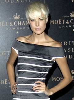 Marie Claire celebrity photos: Agyness Deyn at Moet and Chandon party