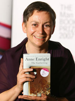 """the gathering by anne enright Enright willfully exchanges the descriptive abilities she demonstrated in her previous novel, """"the gathering,"""" winner of the 2007 man booker prize, for gina's pop-psychology clichés."""