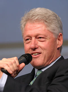Marie Claire news: Bill Clinton at Global Summit
