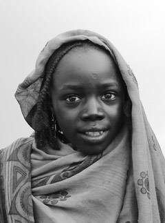 Marie Claire news: Photographs of women from Darfur by Brigitte Lacombe