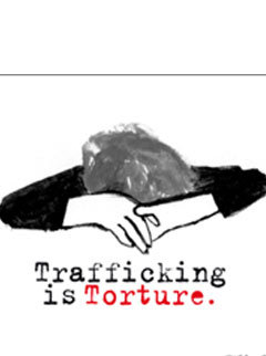Marie Claire news: Trafficking is torture campaign