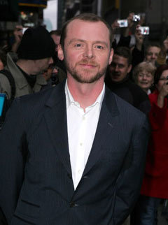 Marie Claire news: Simon Pegg will star in user-generated film Faintheart