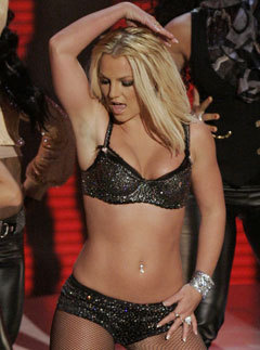 Marie Claire news: Britney Spears performing at the MTV Video Music Awards