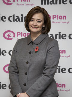 Marie Claire news: Cherie Blair, Because I am a girl campaign