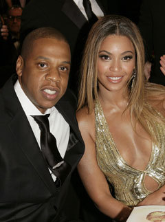 Marie Claire celebrity photos: Jay Z and Beyonce