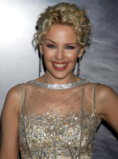 Marie Claire celebrity photos: Kylie Minogue at the premiere of White Diamonds