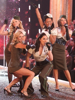 Marie Claire Galleries: Spice Girls for Victoria's Secret