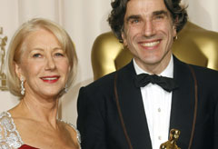 Marie Claire red carpet photos: Helen Mirren and Daniel Day Lewis