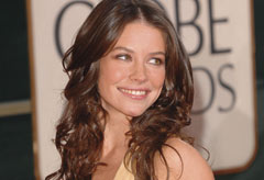 Evangeline Lilly at the 2007 Golden Globes