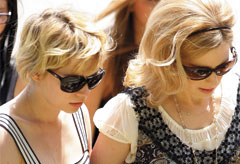 Michelle Williams and Kate Ledger