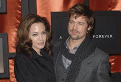 Marie Claire news: Brad Pitt and Angelina Jolie at the Critics' choice awards in Santa Monica