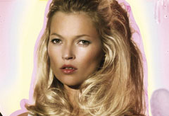 Marie Claire celebrity photos: Kate Moss in new adverts for Agent Provocateur bridal range