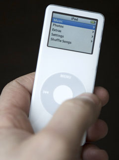 Marie Claire Health: iPod