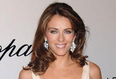 Liz Hurley at Opening of Chopard Boutique