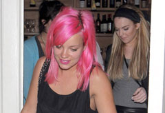 Marie Claire News: Lily Allen and Lindsay Lohan