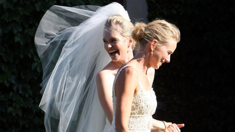Naomi Watts at the wedding of Emma Cooper celebrity wedding guests