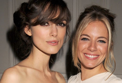 Marie Claire celebrity news: Keira Knightley and Sienna Miller