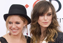 Marie Claire celebrity news: Sienna Miller and Keira Knightley, Edge of Love