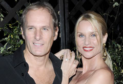 Marie Claire Celebrity News: Nicollette Sheridan and Michael Bolton