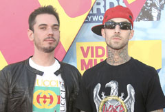Marie Claire Celebrity News: DJ AM and Travis Barker