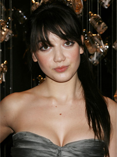 Daisy Lowe at the launch of Burbery's new fragrance in New York