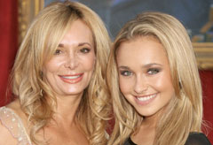 Marie Claire Celebrity News: Hayden Panettiere and mother Leslie