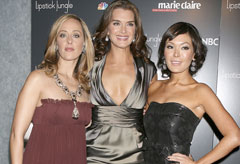 Marie Claire Celebrity News: Kim Raver, Brooke Shields and Lindsay Price