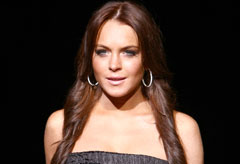 Marie Claire celebrity photos: Lindsay Lohan on catwalk for Dolce & Gabbana