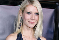 Gwyneth Paltrow at the LA premiere of Iron Man