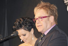 Marie Claire Celebrity News: Lily Allen and Elton John