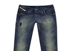 5331b818 Marie Claire Fashion News: Diesel Dirty Thirty Jeans
