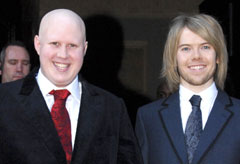 Marie Claire News: Matt Lucas and Kevin McGee