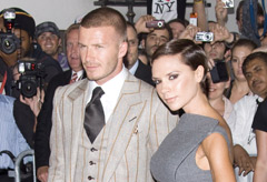 Marie Claire Celebrity News: Victoria and David Beckham