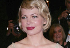 Marie Claire celebrity news: Michelle Williams at Cannes film festival