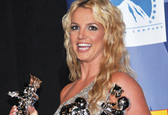 Britney Spears at the MTV Video Music Awards
