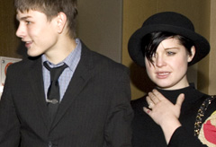 Marie Claire News: Kelly Osbourne and Luke Worrell