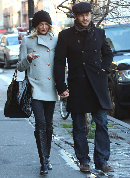 Cameron Diaz and Paul Sculfor, Celebrity Pictures, Marie Claire