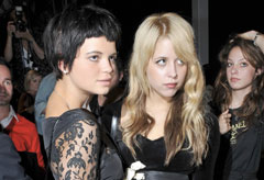 Marie Claire Celebrity News: Pixie and Peaches Geldof