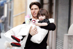 Tom Cruise and Suri, Celebrity news, Marie Claire