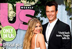 Fergie And Josh Duhamel S Wedding Pics Us Weekly Celebrity News Marie