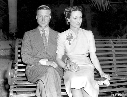 Wallis Simpson and the Duke of Windsor-