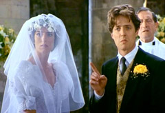 Hugh Grant and Anna Chancellor - Four Weddings and a Funeral, news, Marie Claire