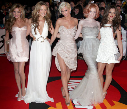 Girls Aloud-Brit Awards-19 Feb 2009-Celebrity Photos