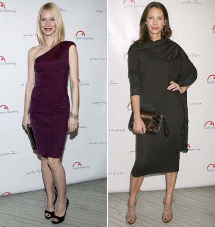 Gwyneth Paltrow, Christy Turlington, celebrity news, Marie Claire