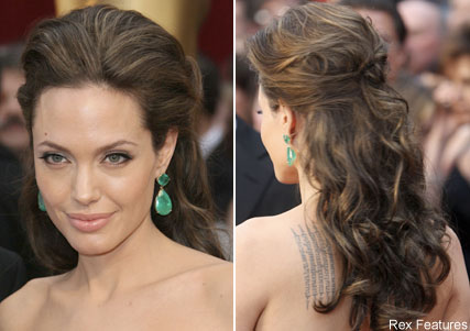Angelina Jolie, Oscars hair trends, celebrity photos, Marie Claire