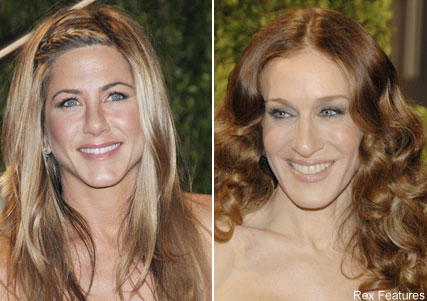 Jennifer Aniston, Sarah Jessica Parker, Oscars hair trends, celebrity photos, Marie Claire
