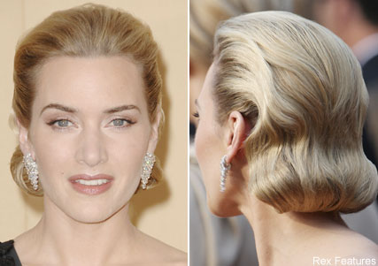 Kate Winslet, Oscars hair trends, celebrity photos, Marie Claire